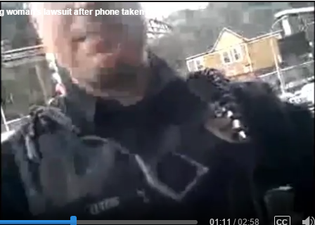 Gresham Officer Taylor Letsis Stole Woman's Phone and Got Sued by ACLU