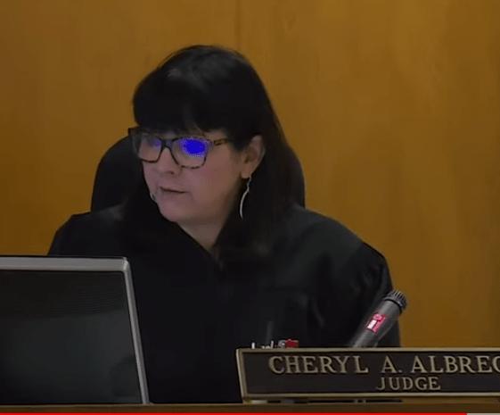 Judge Cheryl Albrecht