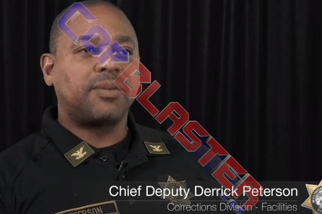 Chief Deputy Derrick Peterson