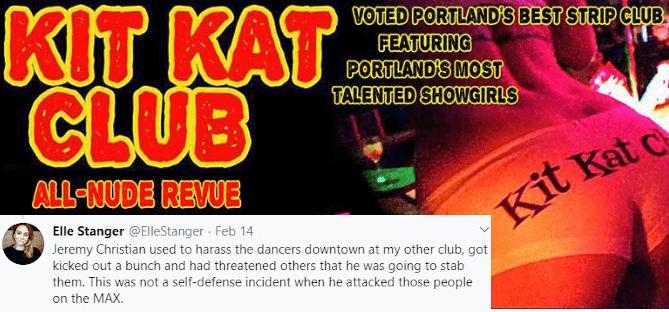 Elle Stanger - Kit Kat Club