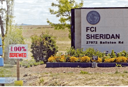 FCI Sheridan: 100% Screwed with Cantu