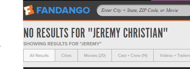 Jeremy Christian Show Seats Unavailable