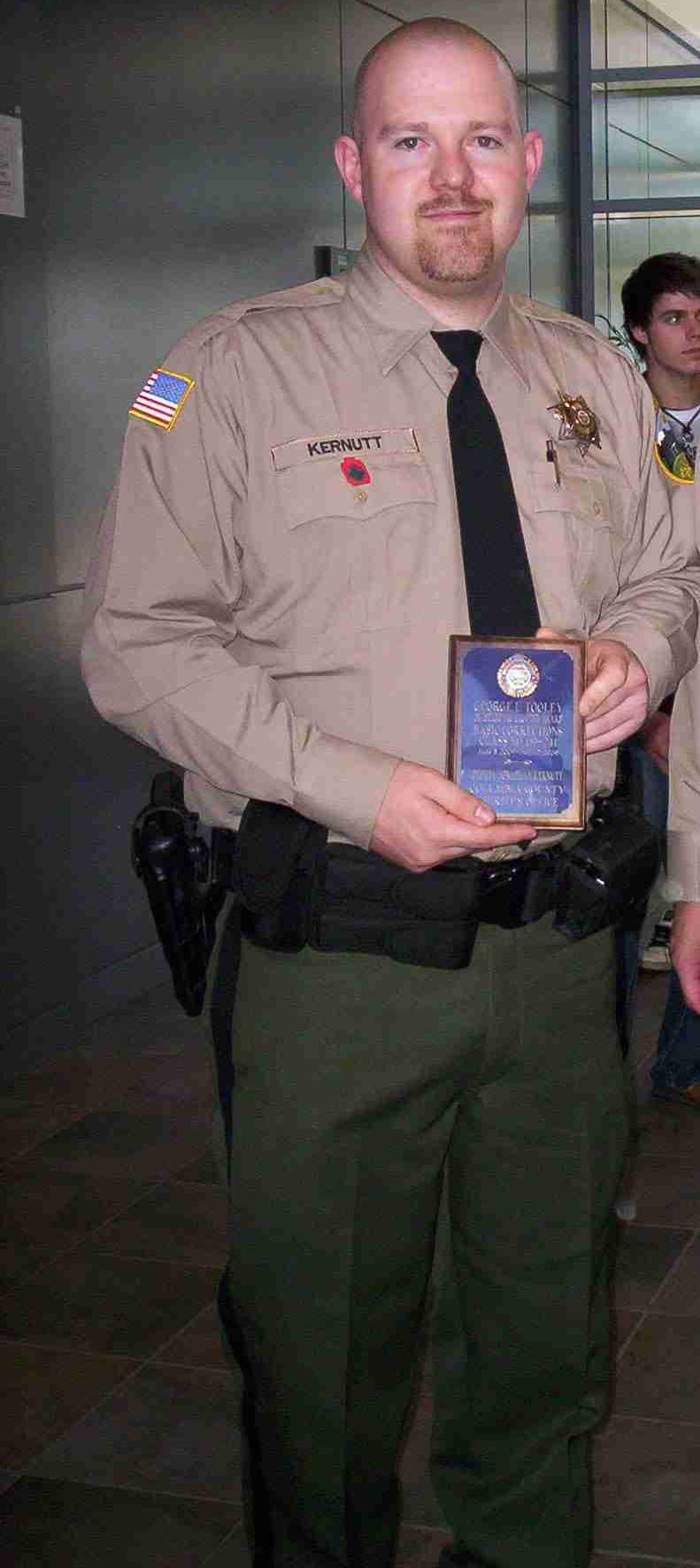 Jonathan Kernutt Gets an Award
