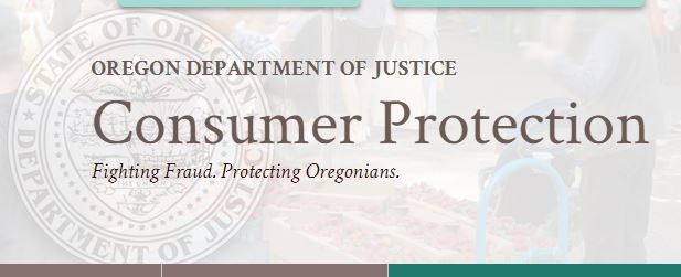 Oregon DOJ Consumer Protection