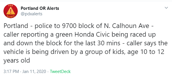 @PDXAlerts on Twitter