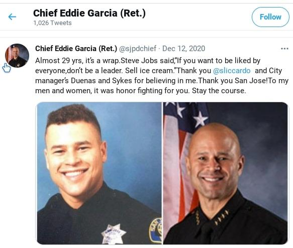 Did Judge James Towery get Police Chief Eddie Garcia fired?