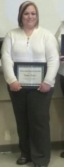 Sophie Frazier Wins an Award