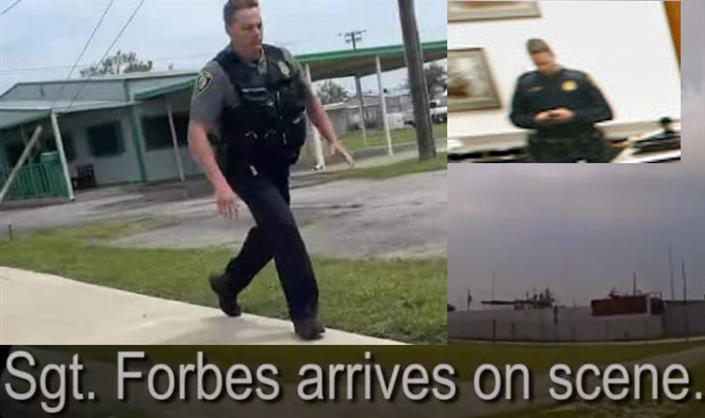 Which Sgt. Forbes Arrested Floyd Wallace in Oklahoma City Yesterday?